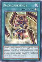 Yu-Gi-Oh Card - REDU-EN051 - GAGAGAREVENGE (super rare holo) - NM/Mint
