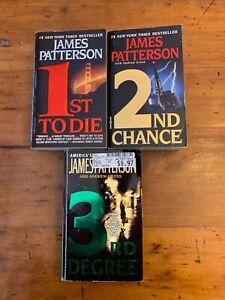 James Patterson Paperback Books Lot of 3