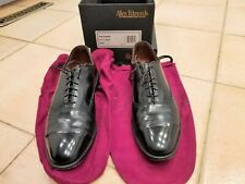 Allen Edmonds Park Avenue Black 9.5 D Excellent Condition !!