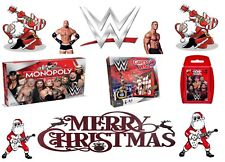 WWE Gift - Monopoly / Guess Who / Top Trumps - 2018/2019 XMAS Gift