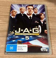 JAG : Season 5 (-6 Disc Set DVD) Region 4