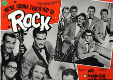 """"""" WE'RE GONNA TEACH YOU TO ROCK """"   LP  PATTI RECORDS    [BELL/CAVELLO]"""