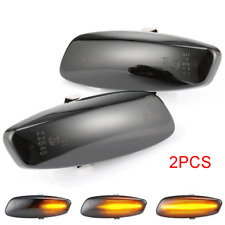 For Peugeot 207 308 5008 RCZ Citroen C4 C5 Dynamic LED Side Marker Signal Lights