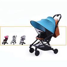 Universal Sun Canopy Ray Shade Blue For Baby Buggy/Pushchair/Pram/Stroller N7