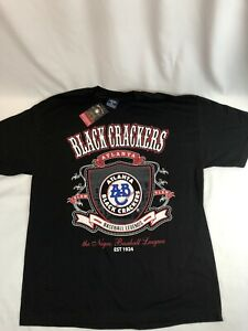 Atlanta Black Crackers Shirt XL New Negro Baseball Leagues NLBM NWT