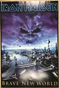 Iron Maiden Poster - Brave New World Poster