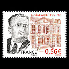 "France 2009 - Death of Eugéne Vaillé ""1875-1959"" - Sc 3707 MNH"