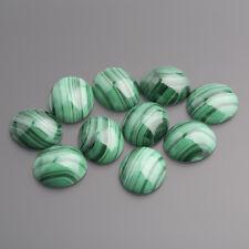 Malachit Cabochon Oval 14 x 12 mm grün / BOX