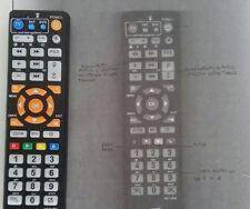 Telecomando remote YBA CD3 (Compatibile;Leggi descrizione)