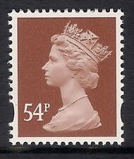 GB 2007 sg Y1728 54p Red-Brown photogravure 2 bands MNH ex Y1719c