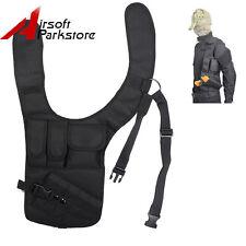 Tactical Military Underarm Pistol Gun Armpit Holster Hidden Shoulder Pouch Rig