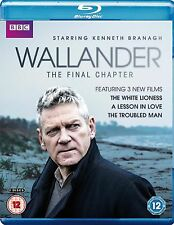 Wallander Complete Series 4 Blu Ray All Episodes Fourth Season Original UK NEW