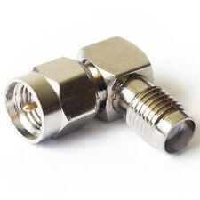 Adaptateur angle droit SMA connecteur / câble antenne -90 degré plug socket coude