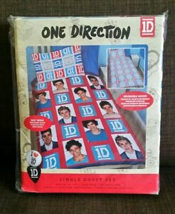 One Direction Single Duvet Cover Bed Set 1D Quilt Cover Bedding Reversible 2 in1