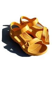 TEVA WOMENS''S SPORT SANDALS ALL YELLOW SIZE 10