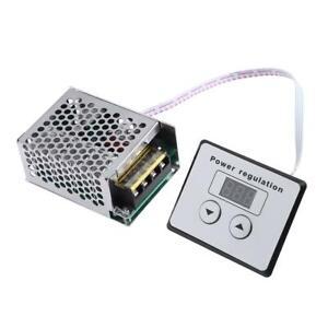 AC 220V 4000W SCR Thyristor Digital Control Electronic Voltage Regulator L&6