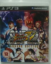 Super Street Fighter IV. Arcade Edition. Ps3. Fisico. UK Castellano
