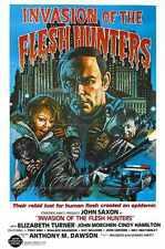 Cannibal Apocalypse Poster 01 Metal Sign A4 12x8 Aluminium