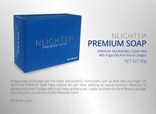 Nworld/Nlighten PREMIUM BAR SOAP w/ Argan Oil, Aloe Vera and Collagen 90g