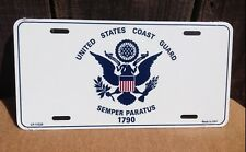 United States Coast Guard Wholesale Metal Novelty Wall Decor License Plate