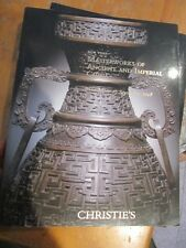 CHRISTIE'S MASTERWORKS OF ANCIENT & IMPERIAL CHINA SEPT 17 2008