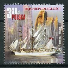 Poland 2019 MNH Independence Cruise Tall Ships Sailing Ships 1v Set Stamps