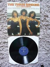 The Three Degrees Hits! Hits! Hits! UK 1981 1st Press Vinyl LP Giorgio Moroder