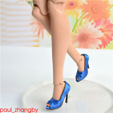 "Sybarite Superdoll blue shoes Superfrock 16"" ooak resin Doll 11VS05"
