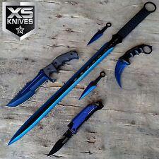 TACTICAL CSGO Blue Multi-Functional Karambit Hunting Throwing Knife
