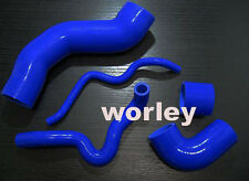 silicone Turbo Boost pipe hose for GOLF MK4 GTI / New Beetle / TT / A3 1.8T blue