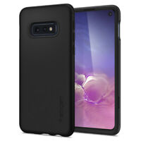Galaxy S10e Spigen®[Thin Fit 360] Thin Slim Cover Case + Free Screen Protector