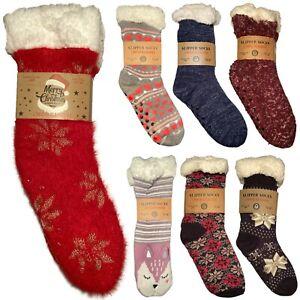 Calze pantofola da donna antiscivolo calde invernali termiche calzini casa caldi