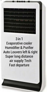 Portable 3 in 1 Evaporative Cooler Air Conditioner Ice Fan Purifier humidifier