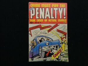 Crime Must Pay The Penalty #14  June 1950 FREE SHIPPING