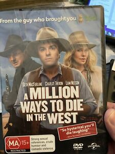A MIllion Ways to Die in the West DVD ABC Likable film with great Moustache song