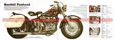 HARLEY DAVIDSON 1400 Boothill Panhead 1956 Fiche Moto 000523