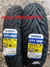 Coppia 120/70 R16 57P e 140/70 R15 69P Michelin City Grip x X-City DOT2017/208