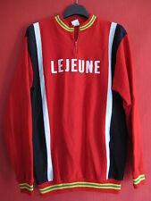 Maillot cycliste Tricot LEJEUNE Vintage cycling 70'S jersey Acrylique - M