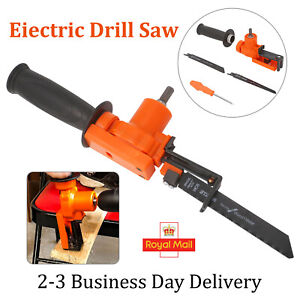 Electric Drill Reciprocating Saws Cutter Metal Cordless Cutting Power Tools Kit