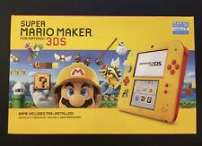 Nintendo 2DS Super Mario Maker Edition with Mario Maker for 3DS Pre-Installed.