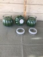 Set 3 Sage & Sandal Wood Candles Set Retired Home Interiors & Gifts New in box