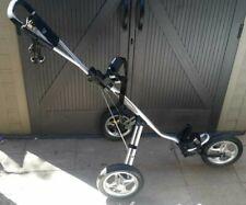 Bag Boy Express Enhanced Air Ride System 3 Wheel Push Golf Cart Nice !