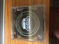 EDMONTON OILERS FINAL OFFICAL GAME PUCK REXALL PLACE APRIL 6TH 2016 RARE