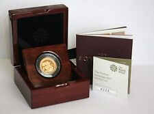 2017 Proof Piedfort Sovereign - 200th Anniversary with COA - JUST 2 LEFT!