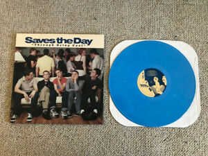 Saves the Day - Through Being Cool Blue Vinyl 1999