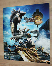 Monster Hunter Tri Mini Poster / Ad Page Nintendo Wii U 3DS 26x24cm