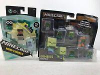 Minecraft Series 8 Biome SettlersTundra Hunter -Minecraft Zombies.Lot of 2.