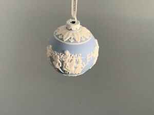 Wedgwood Jasper Christmas Bauble never been displayed
