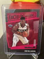 Zion Williamson 2019-20 Panini Status Tmall Asia SSP New Beginnings RED RC