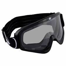 Oxford Fury Anti-Fog ATV Quad Motorbike Motorcross MX Goggles - Glossy Black